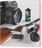 Photography Gear Wood Print