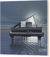 Pianissimo Wood Print