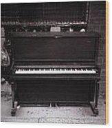 Piano Bar- Tallulah Louisiana Wood Print