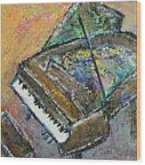 Piano Study 4 Wood Print