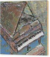 Piano Study 5 Wood Print