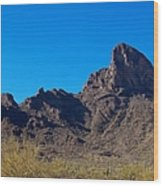 Picacho Peak - Arizona Wood Print