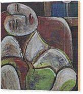 Picasso Dream For Luna Wood Print