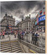 Piccadilly Circus - London Wood Print