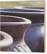 Pick A Pot Wood Print