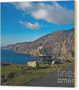 Picnic Time At Slieve League Ireland Wood Print
