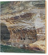 Picture Rocks Splendor Wood Print