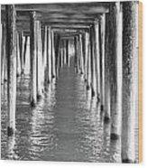Pier In Wood Print