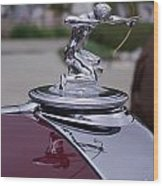 Pierce Arrow Hood Ornament Wood Print