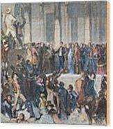 Pierce Inauguration Wood Print by Granger