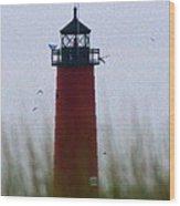 Pierhead Lighthouse Wood Print