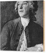 Pierre-augustin Caron De Beaumarchais Wood Print