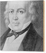 Pierre Jean De Béranger 1780-1857 Wood Print by Everett