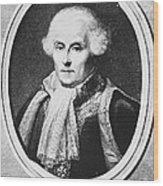 Pierre-simon Laplace, French Polymath Wood Print by Omikron