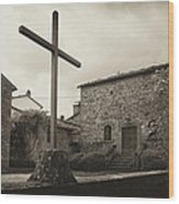 Pieve Di Santa Maria Alla Sovarra Wood Print