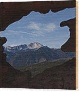 Pikes Peak 2012 Wood Print