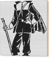 Pilgrim, 17th Century Wood Print