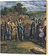 Pilgrims: Massasoit Wood Print
