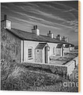 Pilot Cottages Wood Print