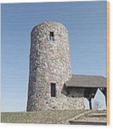 Pilot Knob Tower Wood Print