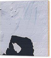 Pine Island Glacier Wood Print
