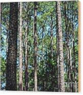 Pine Patch Wood Print