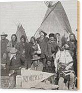 Pine Ridge Reservation Wood Print