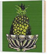 Pineapple Study  Wood Print
