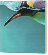 Pinguin Wood Print