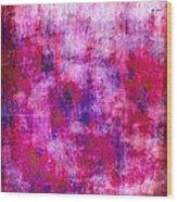 Pink Blueberries Wood Print