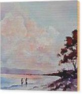 Pink Dawn Wood Print by Bobbi Price