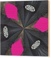 Pink Diamond Wood Print
