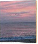 Pink Ocean Wood Print