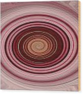 Pink Vortex Wood Print