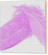 Pinks Crossed Wood Print