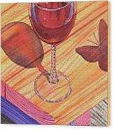 Pinot Noir Wood Print