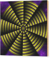 Pinwheel Wood Print by Christopher Gaston