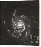 Pinwheel Galaxy, M101 Wood Print by Science Source
