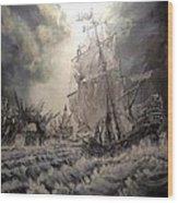 Pirate Islands 1 Wood Print