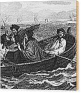 Pirates, 18th Century Wood Print