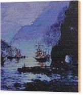 Pirate's Cove Wood Print