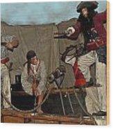 Pirates Of Peril Wood Print