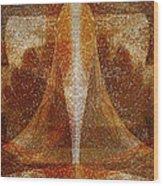 Pistil Wood Print by Christopher Gaston