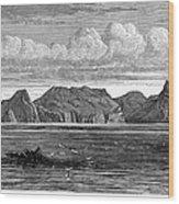 Pitcairn Island, 1879 Wood Print