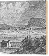 Pittsburgh, 1790 Wood Print