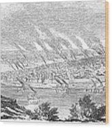 Pittsburgh, 1855 Wood Print