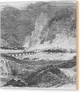 Pittsburgh: Fire, 1845 Wood Print