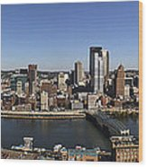 Pittsburgh Panoramic Wood Print