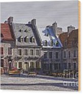 Place Royale Wood Print