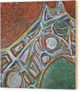Place The Bet Ameri-go-round  Wood Print by Shadrach Ensor